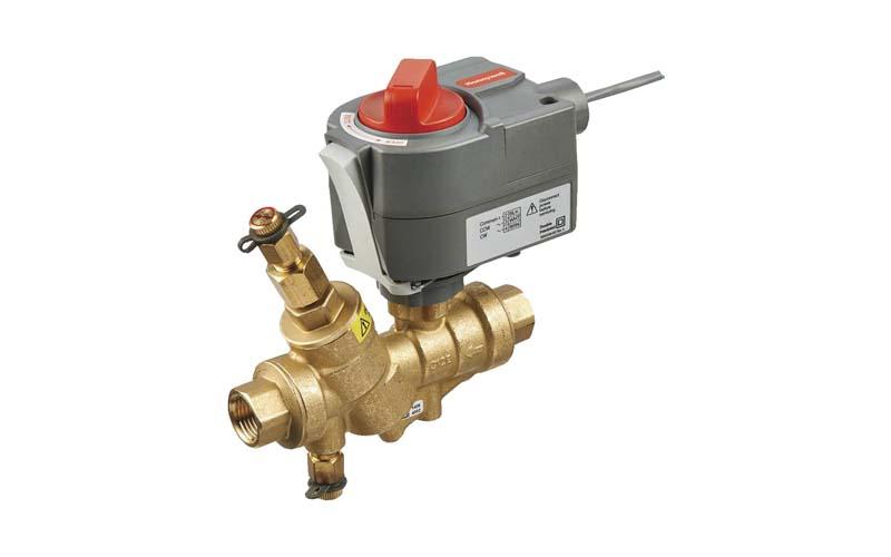 Valvula de control de flujo de agua